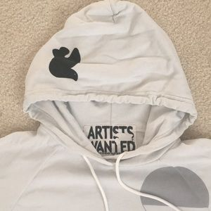 FreeCity Hoodie Artists Wanted Size 1 Small NWOT